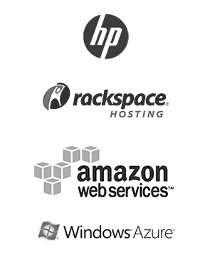Облака HP Rackspace Amazon Windows Azure